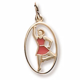 14K Gold The 12 Days of Christmas Day 9 by Rembrandt Charms