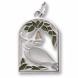 14K White Gold The 12 Days of Christmas Day 1 by Rembrandt Charms