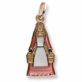 14K Gold The 12 Days of Christmas Day 8 by Rembrandt Charms