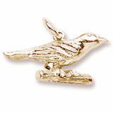 14K Gold Oriole Bird Charm by Rembrandt Charms