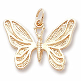 10K Gold Butterfly Charm by Rembrandt Charms