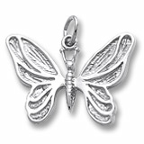 Sterling Silver Butterfly Charm by Rembrandt Charms