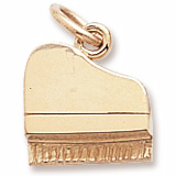 10K Gold Petite Piano Charm by Rembrandt Charms