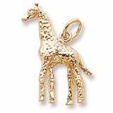 10K Gold Giraffe Charm by Rembrandt Charms