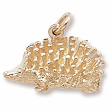 14K Gold Hedgehog Charm by Rembrandt Charms