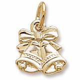 Gold Plated Bells Charm by Rembrandt Charms