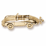 Gold Plated Speedster Car Charm by Rembrandt Charms