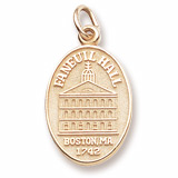 Gold Plated Faneuil Hall Charm by Rembrandt Charms