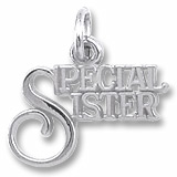 Sterling Silver Special Sister Charm by Rembrandt Charms