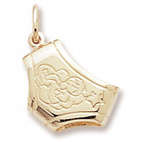 Gold Plated Diaper Charm by Rembrandt Charms