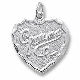 Sterling Silver Grandma Charm by Rembrandt Charms
