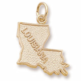 10K Gold Louisiana Charm by Rembrandt Charms