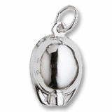 Sterling Silver Miners Hat Charm by Rembrandt Charms