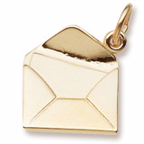Gold Plated Letter Charm by Rembrandt Charms