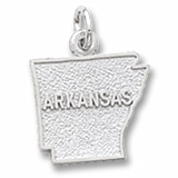 Sterling Silver Arkansas Charm by Rembrandt Charms