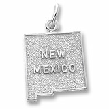 Sterling Silver New Mexico Charm by Rembrandt Charms