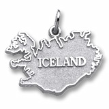 14K White Gold Iceland Charm by Rembrandt Charms