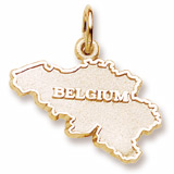 10K Gold Belgium Charm by Rembrandt Charms
