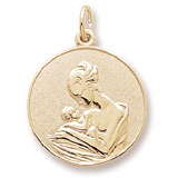 10k Gold Mother and Baby Charm by Rembrandt Charms