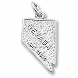 Sterling Silver Las Vegas Nevada Charm by Rembrandt Charms