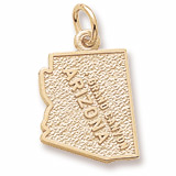 10K Gold Grand Canyon Arizona Charm by Rembrandt Charms