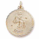 10K Gold Libra Constellation Charm by Rembrandt Charms