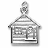 Sterling Silver House Charm by Rembrandt Charms