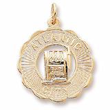 10K Gold Atlantic City Slots Charm by Rembrandt Charms