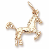 Gold Plate Horse Charm by Rembrandt Charms