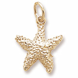 14K Gold Starfish Charm by Rembrandt Charms