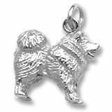 Sterling Silver Chow Chow Charm by Rembrandt Charms