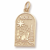 14K Gold Noel Charm by Rembrandt Charms