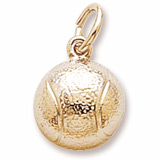14K Gold Tennis Ball Charm by Rembrandt Charms