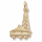 10K Gold Sanibel Island, FL Lighthouse by Rembrandt Charms