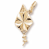 Gold Plated Kite Charm by Rembrandt Charms
