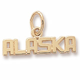 14K Gold Alaska Charm by Rembrandt Charms