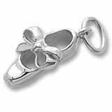 14K White Gold Tap Shoe Charm by Rembrandt Charms