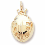 14K Gold Ladybug Charm by Rembrandt Charms
