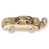 10K Gold Race Car Charm by Rembrandt Charms