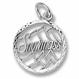 Sterling Silver Snowmass Charm by Rembrandt Charms