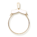 Gold Plate Purity Charm Holder by Rembrandt Charms