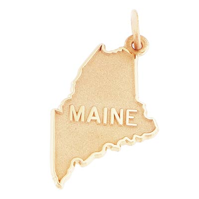 14k Gold Maine Charm by Rembrandt Charms