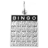 Bingo Card Charms