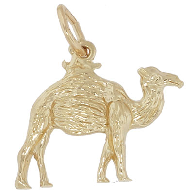 Gold Plate Camel Charm by Rembrandt Charms