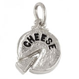 Sterling Silver Cheese Charm by Rembrandt Charms