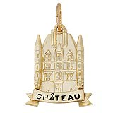 Gold Plated Chateau Charm by Rembrandt Charms