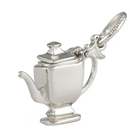 Sterling Silver Teapot Charm by Rembrandt Charms