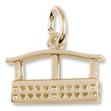 10k Gold Aero Car Gondola Charm by Rembrandt Charms