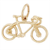 10K Gold Bicycle Charm by Rembrandt Charms