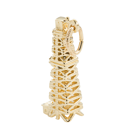 14K Gold Oil Well Charm by Rembrandt Charms